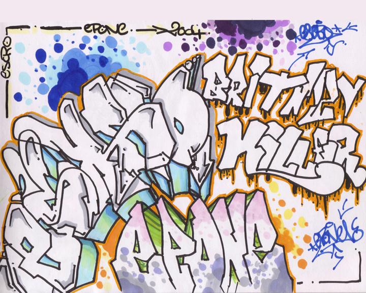 Estilos de Graffiti (II):   Cómo ser madre de un graffitero ...