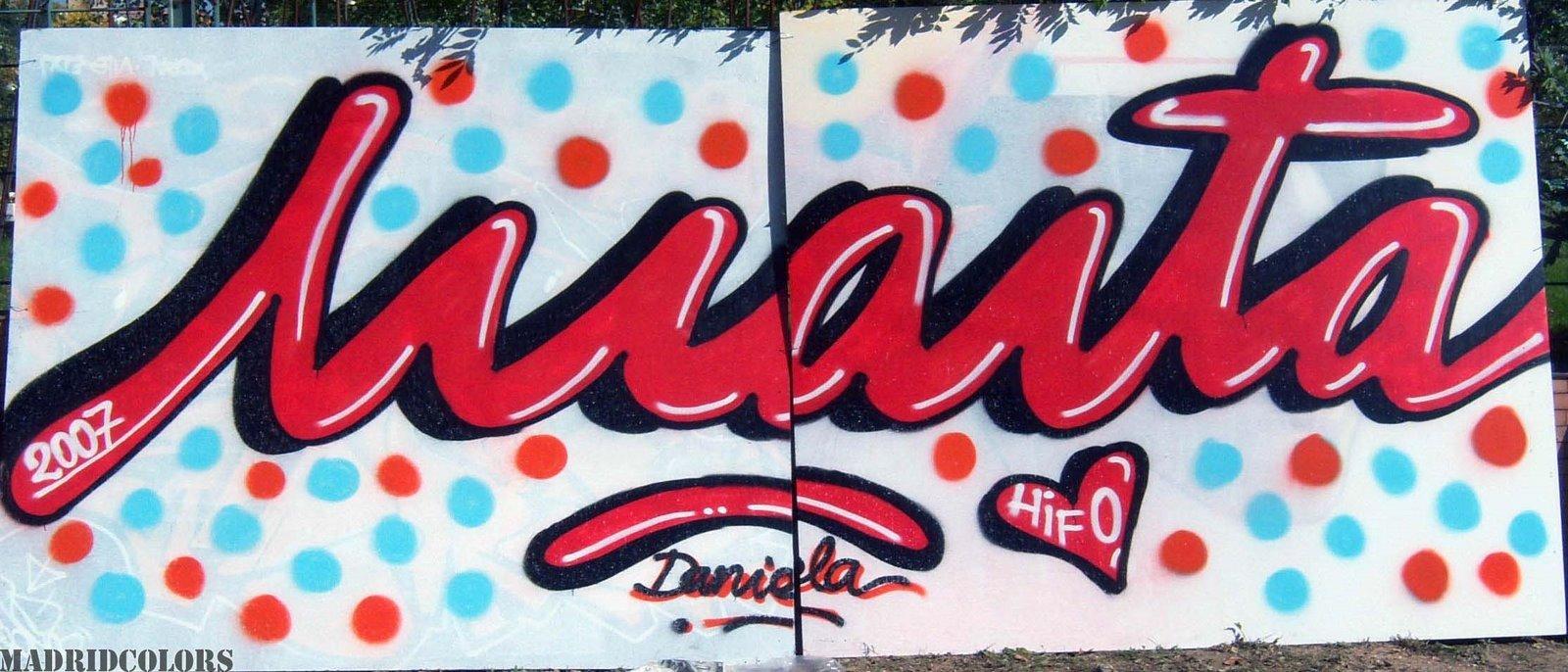 Normalmente la gente piensa que el graffiti y el arte urbano son territorios sólo masculinos, pero la realidad es completamente distinta.