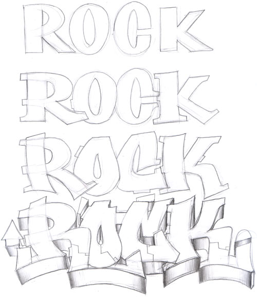 How to Draw Graffiti Letters