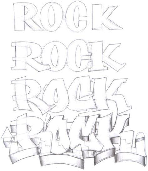 Aprende a hacer letras de graffiti (II) | Cómo ser madre de un ...