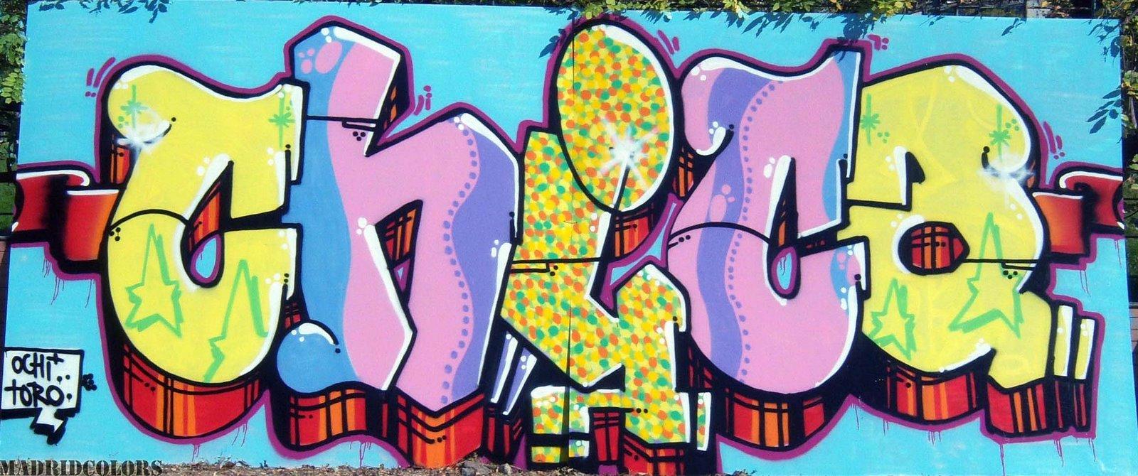 diccionario letra firma graffiteras: