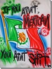 graffiti bandera mexicana