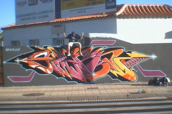 Graffiti arte callejero