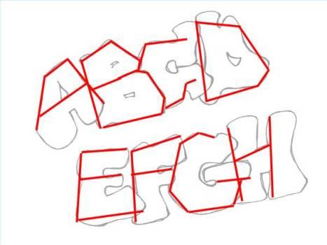 Aprende a hacer letras de graffiti (I)